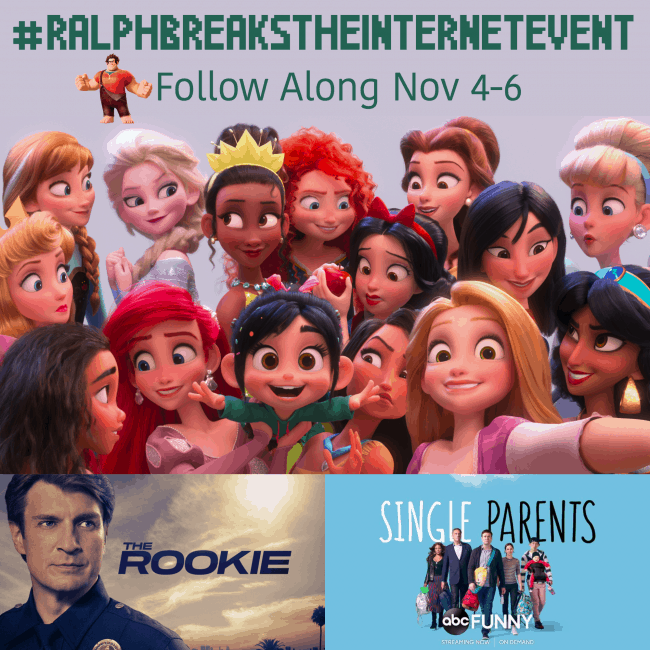 Ralph Breaks The Internet Event Button