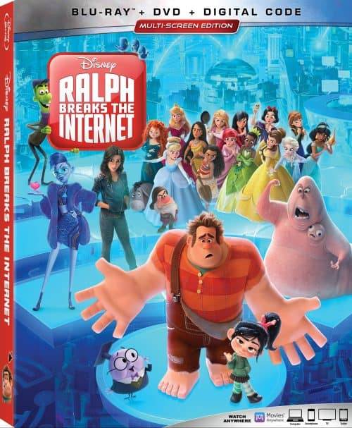 Ralph_Breaks_The_Internet blu ray cover