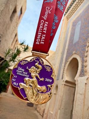 2019 Princess Challenge medal Jasmine