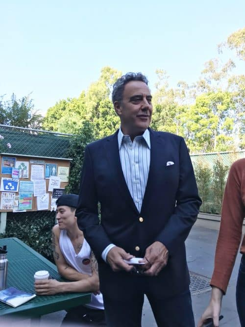 ABC's Single Parents set visit behind the scenes Brad Garrett