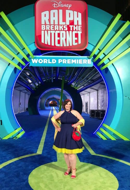Snow White Disneybound Ralph Breaks the Internet Red Carpet Premiere