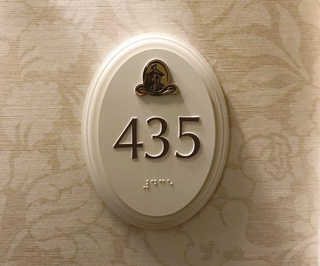 suite number at The Hotel Hershey