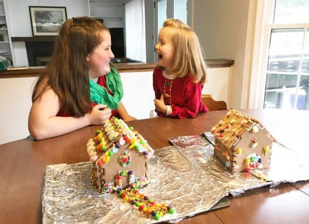 Link and Lock Gingerbread Houses