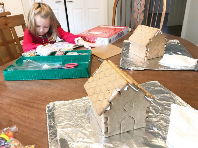 Gingerbread House Kit Assembly