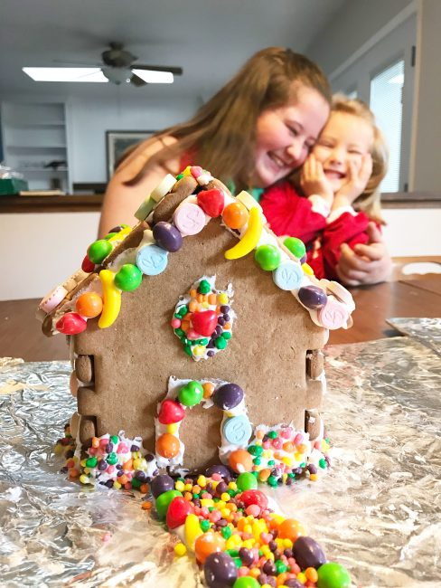 Best Gingerbread House Kit Final Product