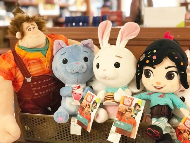 Wreck it Ralph toys: Ralph Breaks the Internet Plushies
