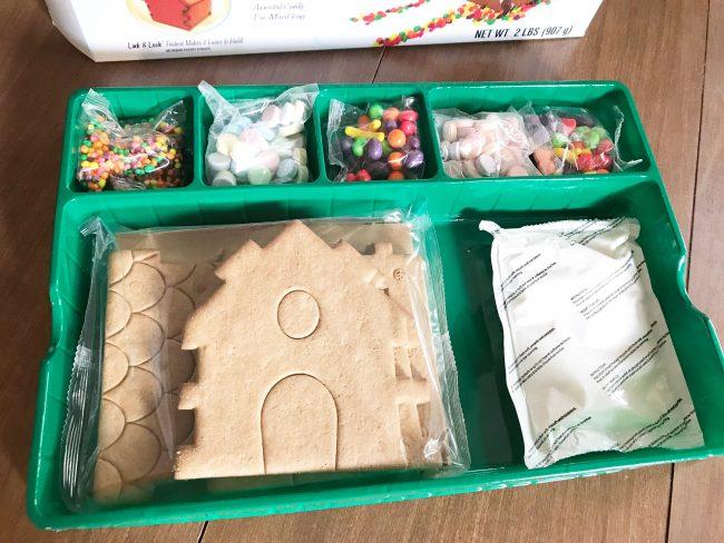 Inside the Gingerbread House Kit