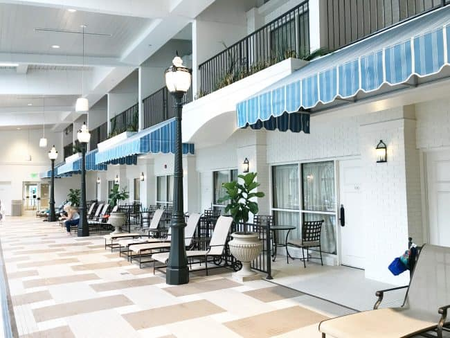 the hotel hershey pool rooms