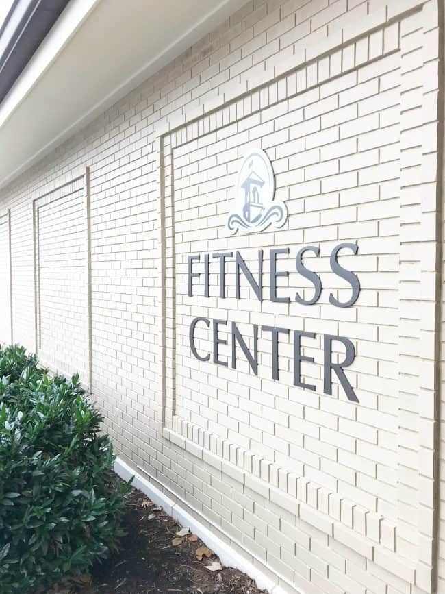 The Hotel Hershey fitness center