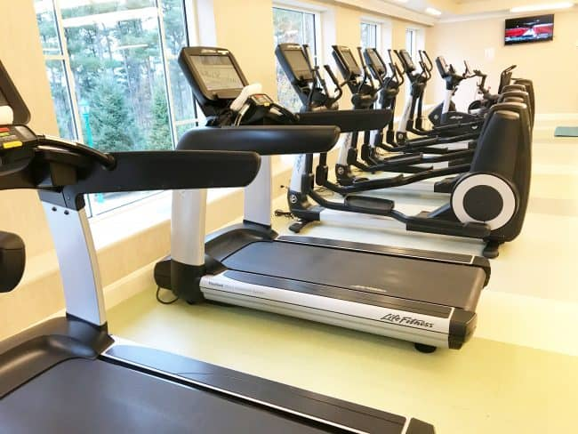 the hotel hershey fitness center treadmills