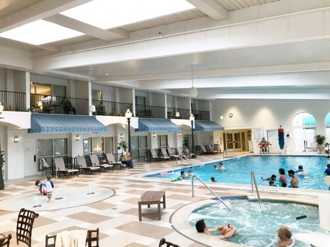 hotel hershey indoor pool