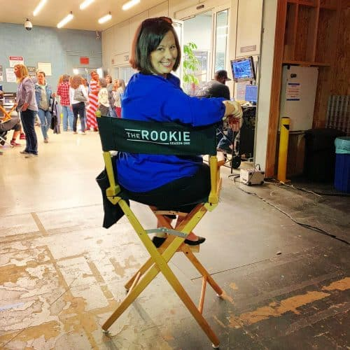 ABCs The Rookie Set Visit