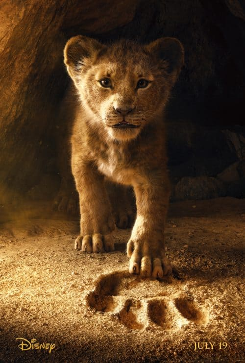 Lion King Poster 2019