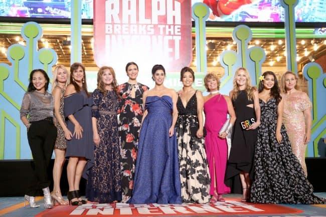 Disney Princesses Ralph Breaks The Internet Red carpet World Premiere