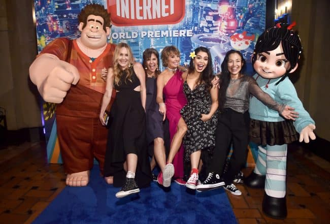 """Ralph Breaks The Internet"" World Premiere Comfy Princesses"