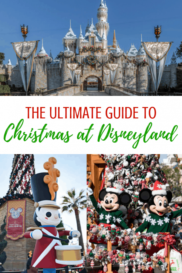 Disneyland Christmas holidays