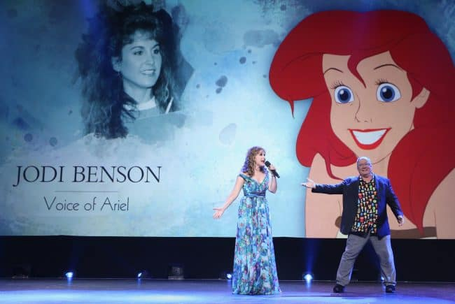 Actor Jodi Benson (Ariel/THE LITTLE Mermaid) D23 Expo 2017