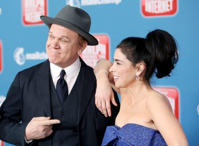 """Ralph Breaks The Internet"" World Premiere John C Reilly, Sarah Silverman"
