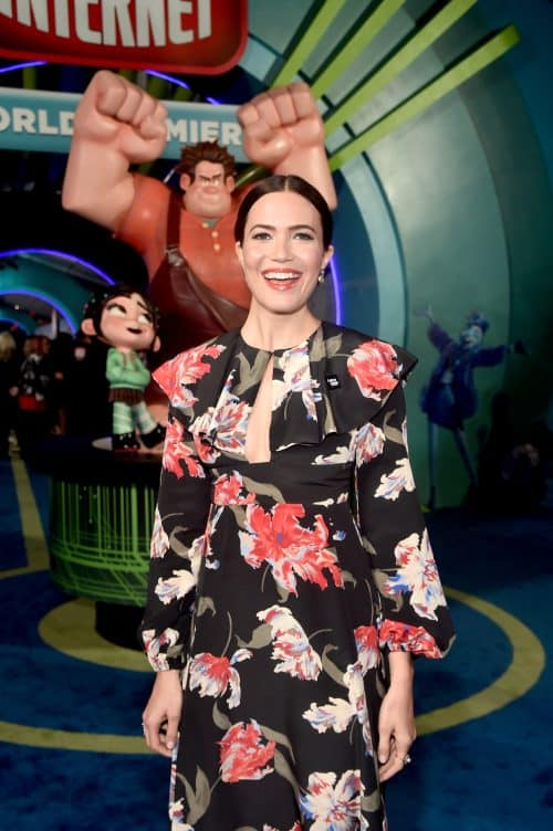 Mandy Moore, Voice of Rapunzel, on Ralph Breaks the Internet Red Carpet