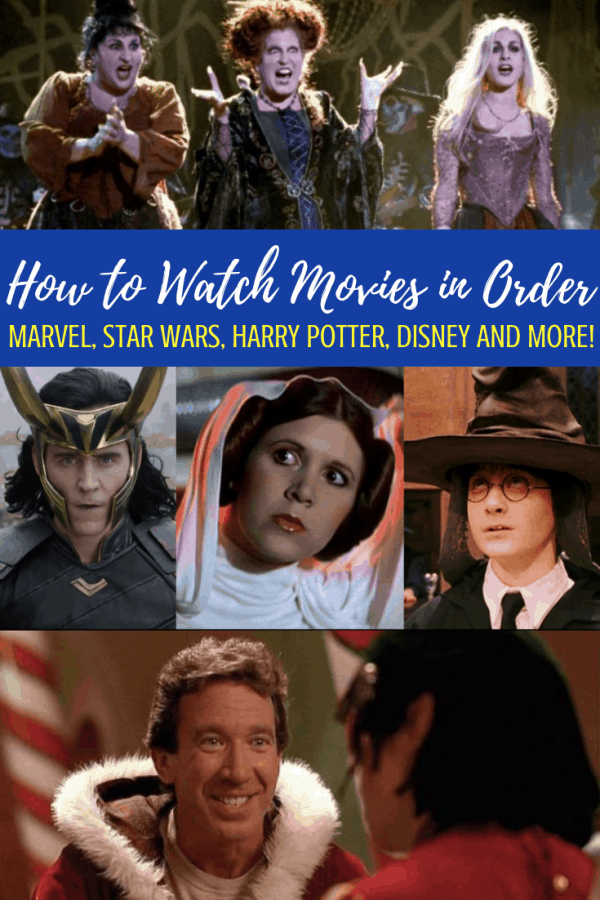How to watch movies in order