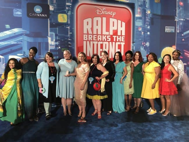 Princess Disneybounding on the Ralph Breaks the Internet Red Carpet