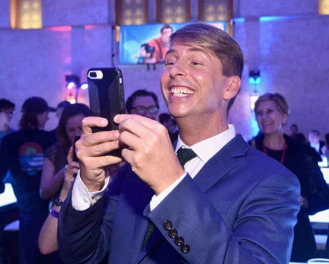 "Jack McBrayer attends the World Premiere of Disney's ""RALPH BREAKS THE INTERNET"""