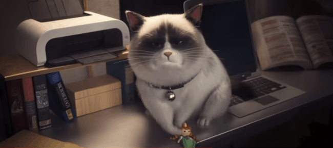 Ralph breaks the internet grumpy cat