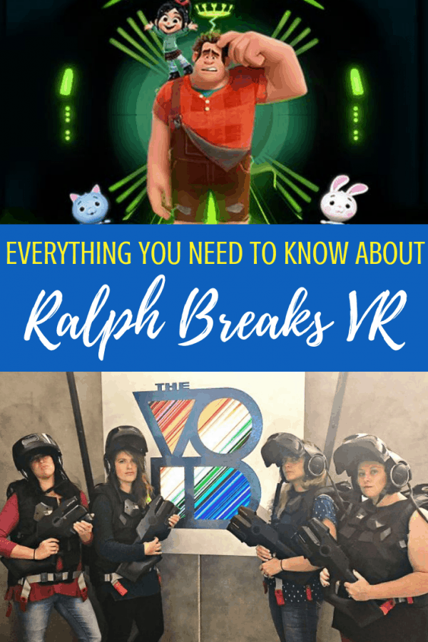 The Void VR Ralph Breaks VR experience