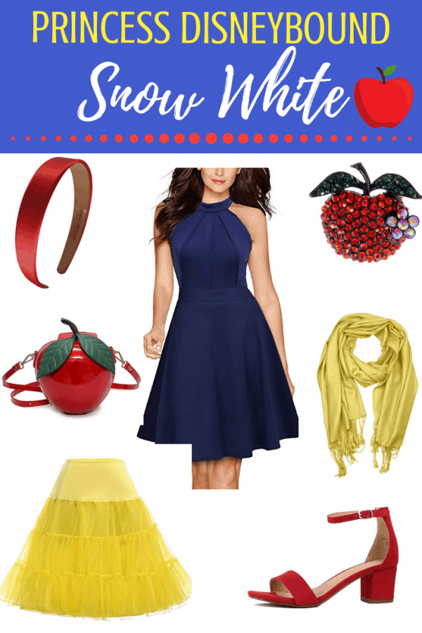 Princess Disneybounding as snow white disneybound