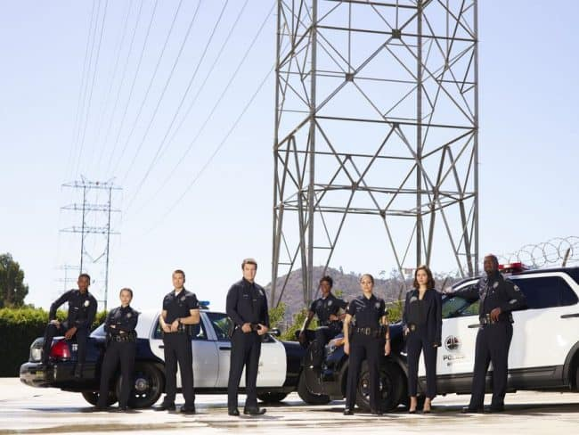 ABC The Rookie Cast Photo