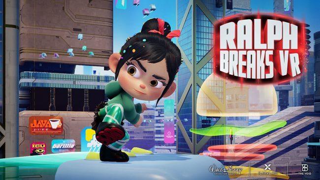 The Void VR Ralph Breaks VR Vanellope