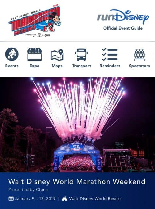 2019 Walt Disney World Marathon weekend event guide