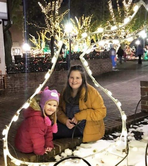 hersheypark candy lane lights