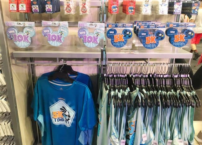 rundisney expo merchandise