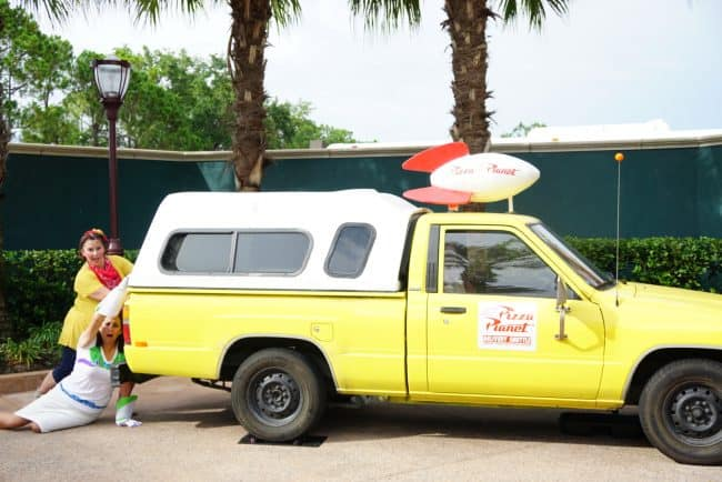 Pizza Planet Truck and Toys