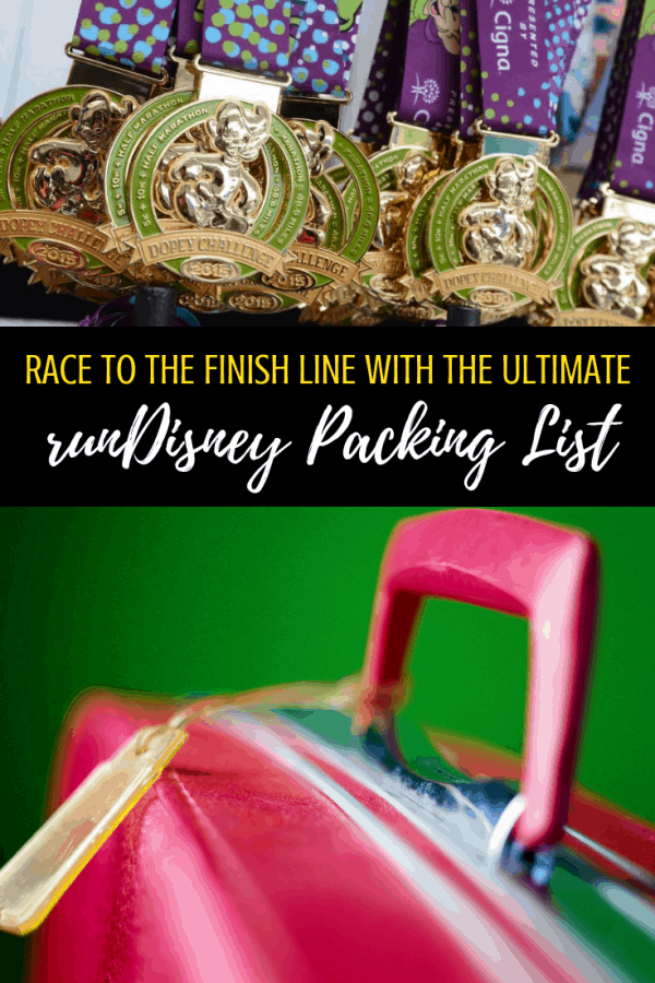 The Ultimate runDisney packing list