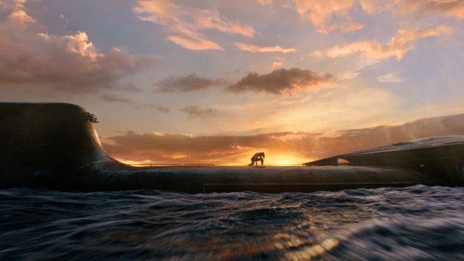 Aquaman image submarine