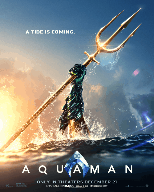 parent movie review Aquaman poster