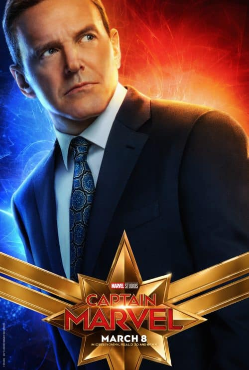 Captain Marvel Movie Poster Agents of SHIELD Phil Coulson