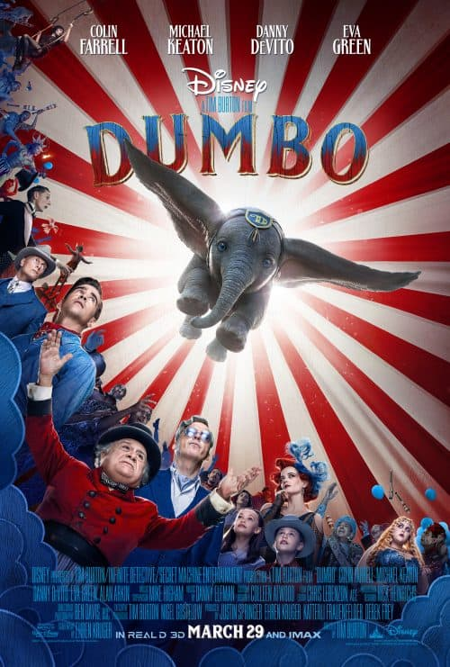 Live Action Dumbo movie poster