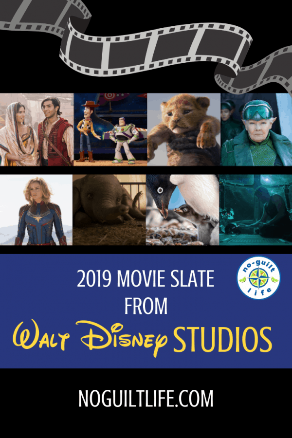 2019 Walt Disney Studios Movie Slate