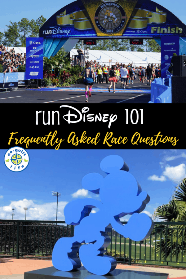 rundisney FAQs and runDisney 101 tips