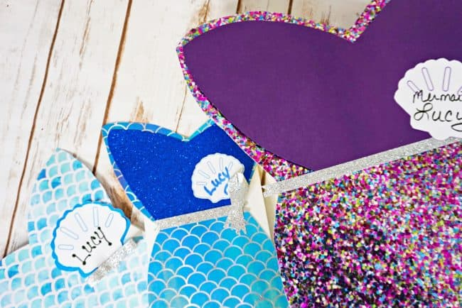 mermaid valentines day boxes