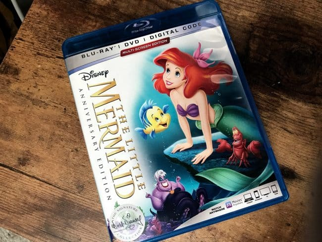 The Little Mermaid 30th anniversary blu-ray