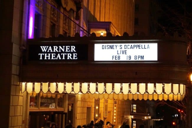 Disneys DCappella at Warner Theater