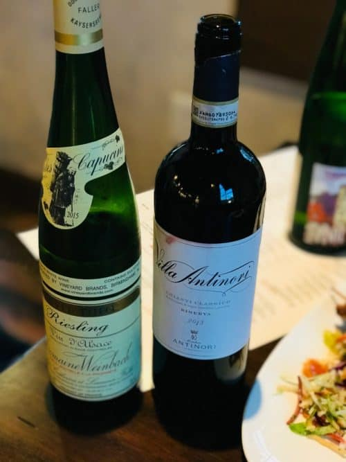 two bottles of wine from Wine-Bar-George
