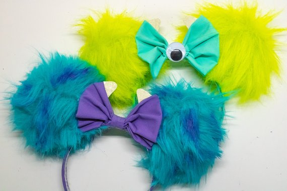 monsters inc ears Mike and Sulley