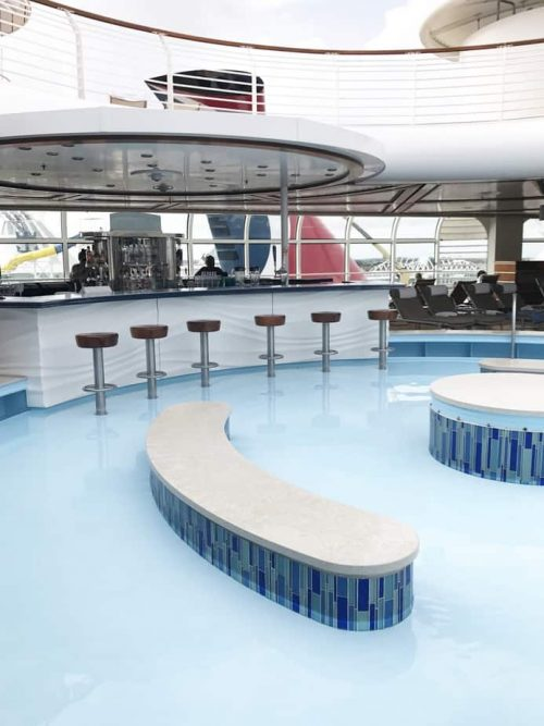 Adult only pool Disney Cruise Line