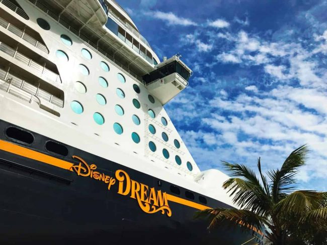 Disney Dream docked in Nassau