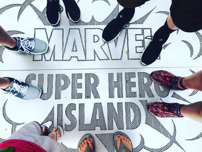 Marvel superhero island Universal Orlando